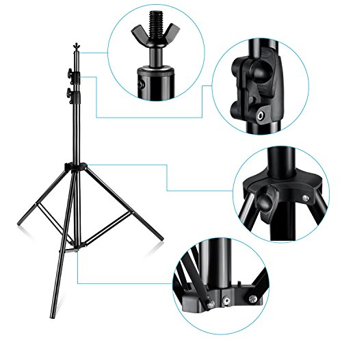 Neewer Pro 10x12 feet/3x3.6 Meters Heavy Duty Adjustable Backdrop Support System Photography Studio Video Stand with Carrying Bag for Backdrop Background by Neewer (Image #6)