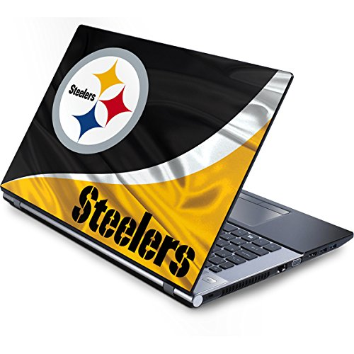 Skinit Protective Skin (fits Latest Generic 15-Inch Laptop/Netbook/Notebook); NFL Pittsburgh Steelers Logo
