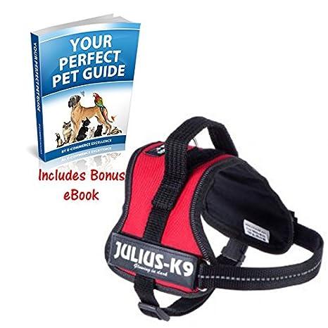 JULIUS K-9 Robusta Perro arnés de Poder Uso Profesional para ...
