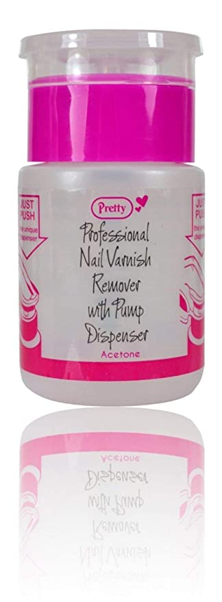 Pretty esmalte de uñas Remover con bomba dispensador 70 ml