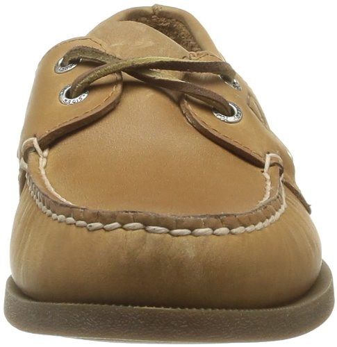 Sperry Top-sider Mens Autentiche Scarpe Da Barca A 2 Occhi Originali, Vera Pelle Interamente In Pelle E Suola Antitraccia In Gomma Sahariana