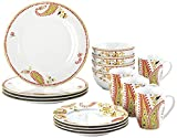 Paisley 16 Piece Dinnerware Set Review