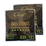 Orphee Caye-BW Series BW930 Bass Strings Set .030-.125 Nickel Alloy from Italy 6pcs/set