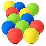 Pllieay 12 Pieces 2.4 Inch Soft Foam Balls