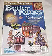 Better homes and gardens special christmas issue december Better homes and gardens christmas special