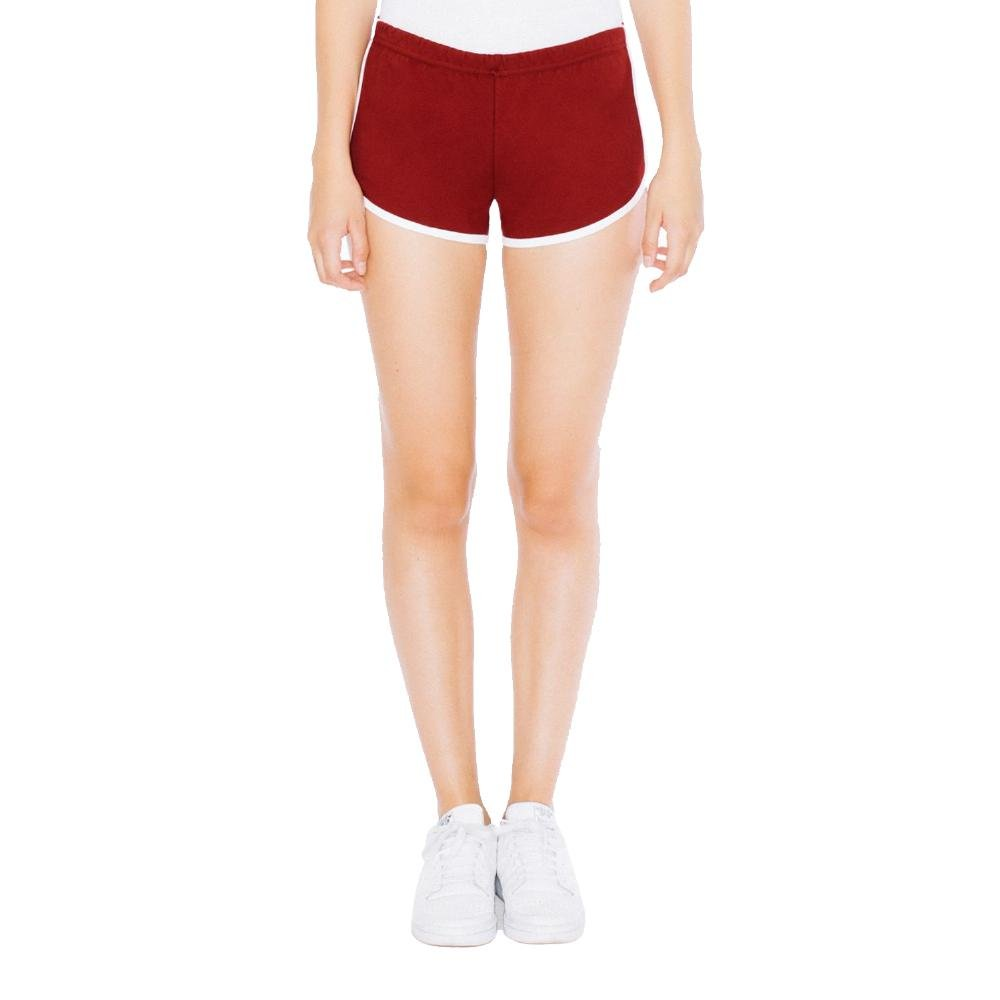 American Apparel - Damen Interlock Running Shorts 7301