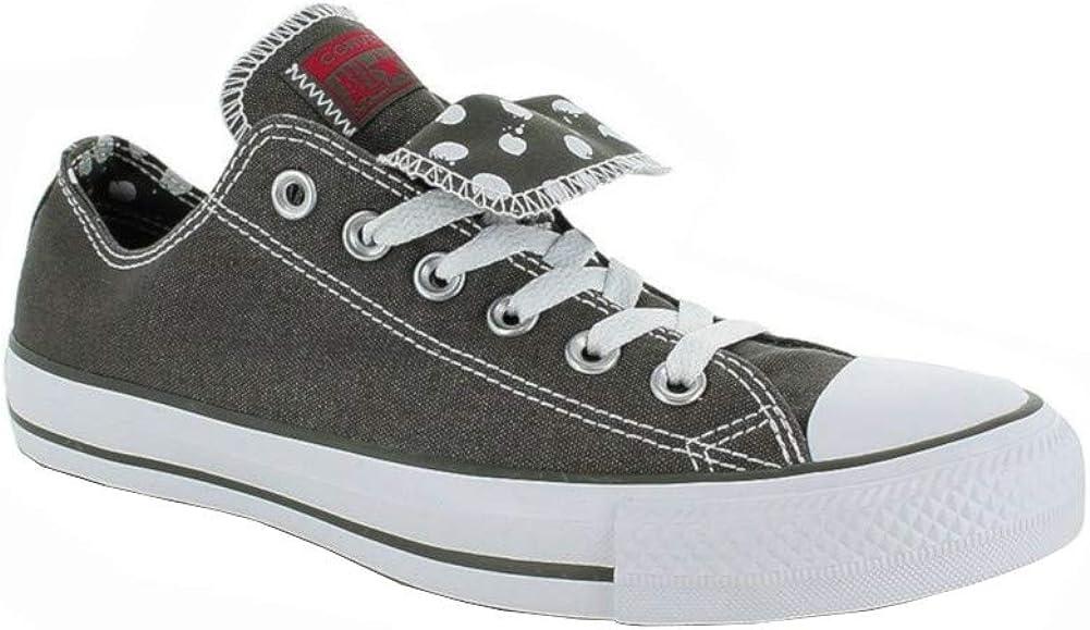 Querido tubo auditoría  Amazon.com | Converse Chuck Taylor WOMENS All Star Grey Ox 534760f Womens  10/Mens 8 (Womens 10 / Mens 8) | Fashion Sneakers