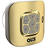 AquaAudio Cubo – Portable Waterproof Bluetooth Speaker with Suction Cup for Showers, Car, etc. - Pairs with All...