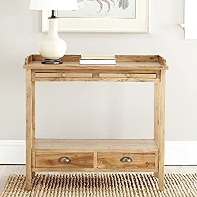 Console Tables Oak