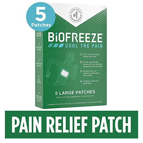 - Biofreeze Pain Relief Patch, Large, Box of 5