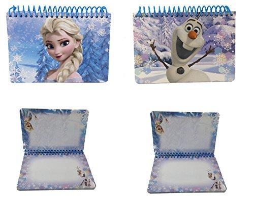 - Lot of 2 Disney Frozen Elsa & Olaf Autograph Book