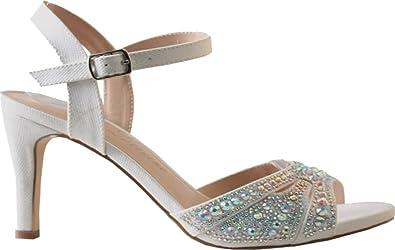 e209e416872 Lauren Lorraine Women s Florence Ankle Strap Sandal
