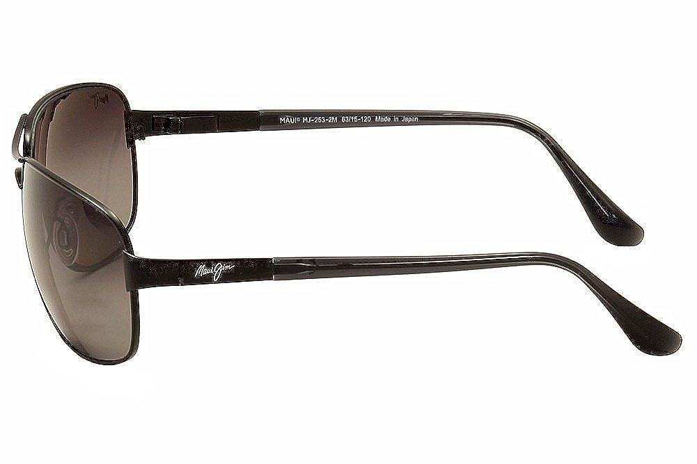 d03323ccd0e Maui Jim Sand Island 253-2MGS Sand Island Matte Black Grey Sunglasses   Amazon.ca  Clothing   Accessories