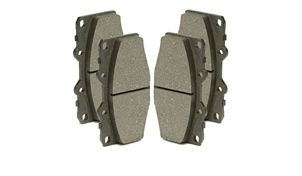 1998-2002 Honda Accord 4 Cly Ceramic Brake Pads /& Shoes