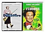 Robin Williams Fun Family Pack - Disney Flubber & Mrs. Doubtfire Double Feature Movie set