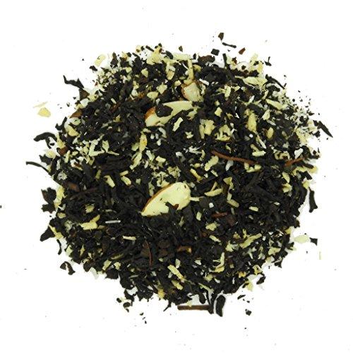 - Whistling Kettle Tea - Loose Leaf Tea - 4 Ounces (Snowflake) - Black Tea - Flavored - Coconut - Almonds - Cinnamon