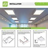ASD 2x4 LED Flat Panel Light 40W