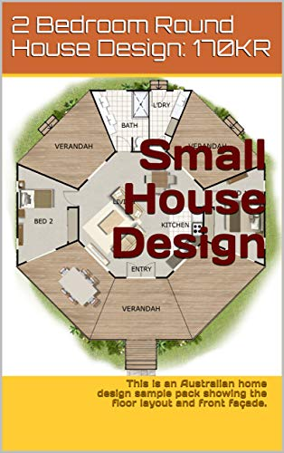 Amazoncom Small 2 Bedroom Round House Design 170kr This