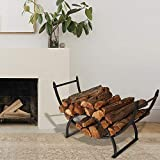 Patio Watcher 3-Foot Curved Firewood Rack Log