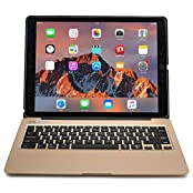 iPad Pro 12.9 Keyboard case COOPER KAI SKEL Bluetooth QWERTY Wireless Keyboard Hard Clamshell Carrying Case Cover...