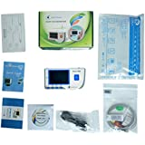 Heal Force Prince 180-B Easy Handheld Portable ECG Monitor With 3-Lead ECG Cable And Pack Of ECG Electrodes, Software and USB Cable