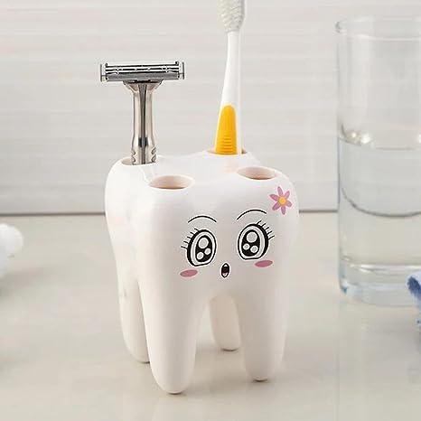 Sencillo Vida Porta Cepillo de Dientes, Toothbrush Holder, Razor Holder, Accesorios de Baño