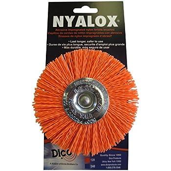 Century Drill and Tool 77341 Coarse Nylon Flap Brush, 4