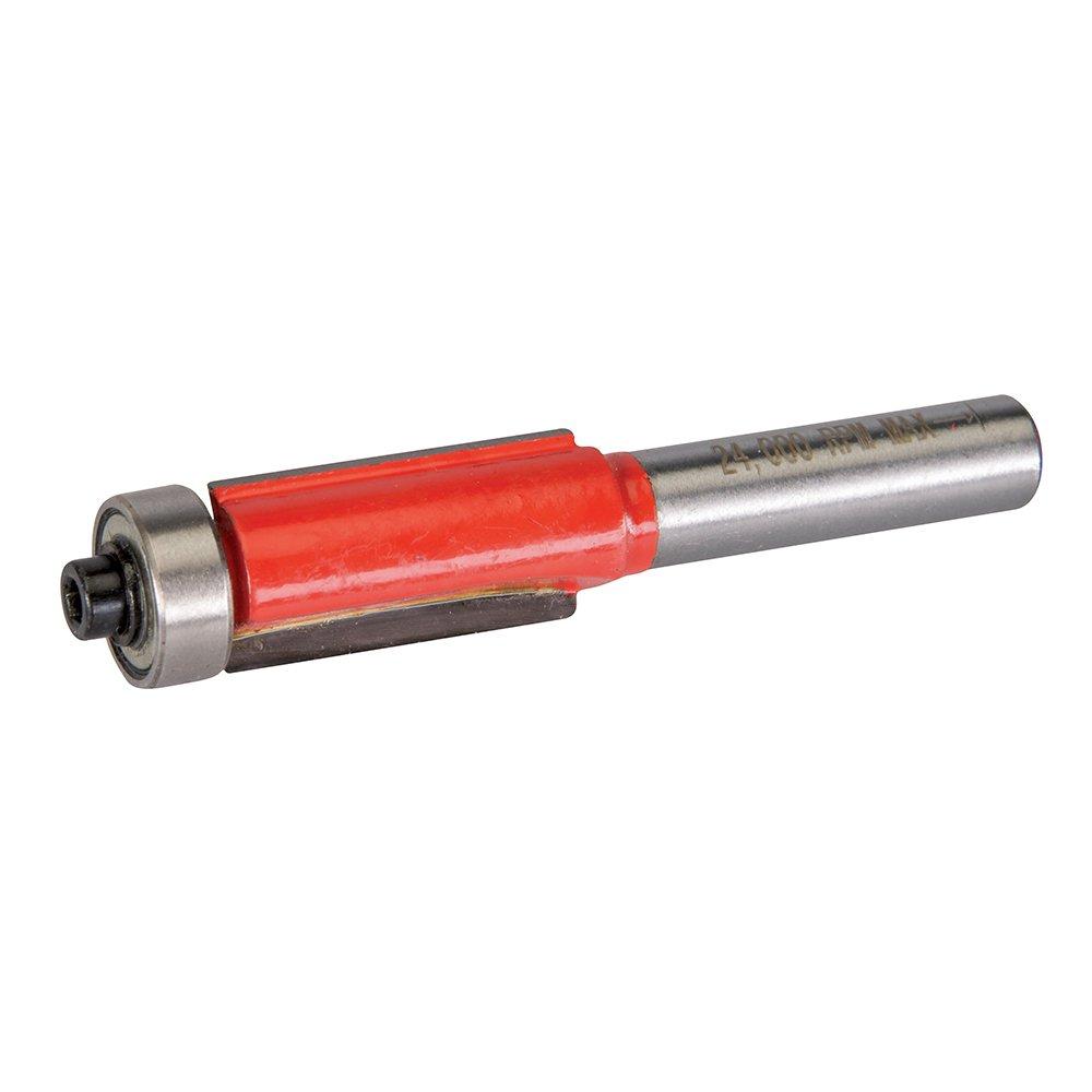 Silverline 258377 Fraise à affleurer de 8 mm 12, 7 x 25, 4 mm
