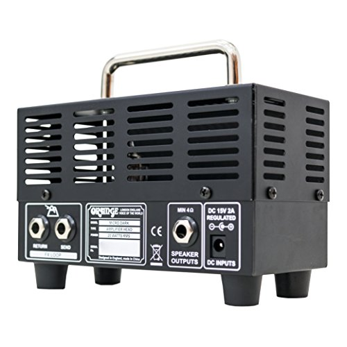 Orange MD20 Micro Dark 20-Watt Mini Guitar Amplifier Head Bundle with Instrument Cable and Austin Bazaar Polishing Cloth by Orange (Image #3)