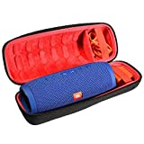 Hard Travel Carrying Storage Case for JBL Charge 3 JBLCHARGE3BLKAM Waterproof Portable Bluetooth Speaker by Aproca (Black-New)