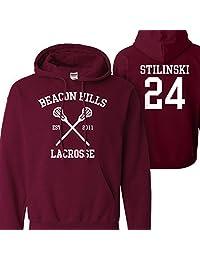 Mars NY Women's Men's Teen Wolf Beacon Hills Lacrosse Stilinski 24 Hoodie