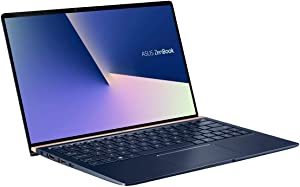 "ASUS ZenBook 13 Ultra-Slim Durable Laptop 13.3"" FHD WideView, Intel Core i7-10510U, 16GB RAM, 512GB PCIe SSD, NumberPad, Windows 10 Pro, UX333FAC-XS77, Royal Blue"