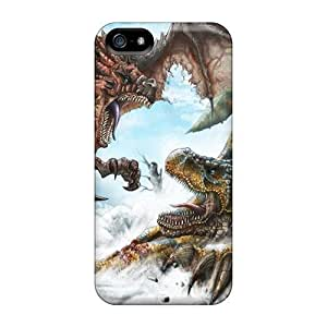Rosesea Custom Personalized IBO19085VzKPdurable Protection Cases Covers For Iphone 5 5s monster Hunter