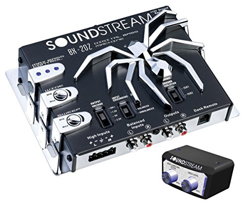- Soundstream BX-20Z Digital Bass Reconstruction Processor