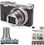 "Panasonic Lumix DMC-TZ60 Digital Camera, HD 1080p, 18.1MP, 30x Optical Zoom, Wi-Fi, NFC, GPS & GLONASS, EVF, 3"" Screen + Photo Project"