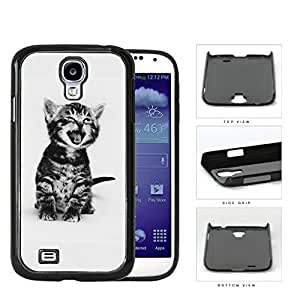 Cute Kitty Cat Portrait Hard Plastic Snap On Cell Phone Case Samsung Galaxy S4 SIV I9500
