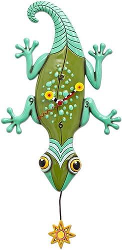 Allen Designs Sun Lizard Pendulum Clock
