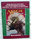 img - for Magic the Gathering Rulebook book / textbook / text book