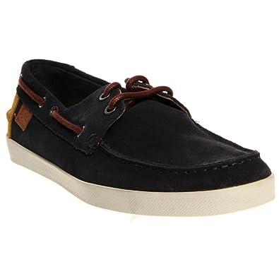 399256536 Lacoste Keelkson SRM Suede Slip-On Mens Shoes Size 11.5 Dark Blue