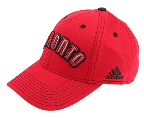 - adidas NBA Mens Structured Team Arc Flex Hat, Toronto Raptors