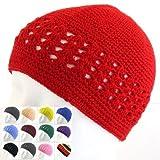 Knit Kufi Hat - Koopy Cap - Crochet Beanie