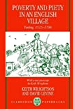 img - for Poverty and Piety in an English Village: Terling, 1525-1700 (Clarendon Paperbacks) by Keith Wrightson (1995-06-01) book / textbook / text book
