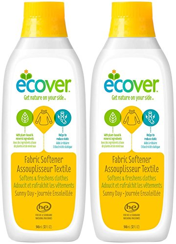 Natural Laundry Ecover (Ecover Fabric Softener - Sunny Day - 32 oz - 2 pk)