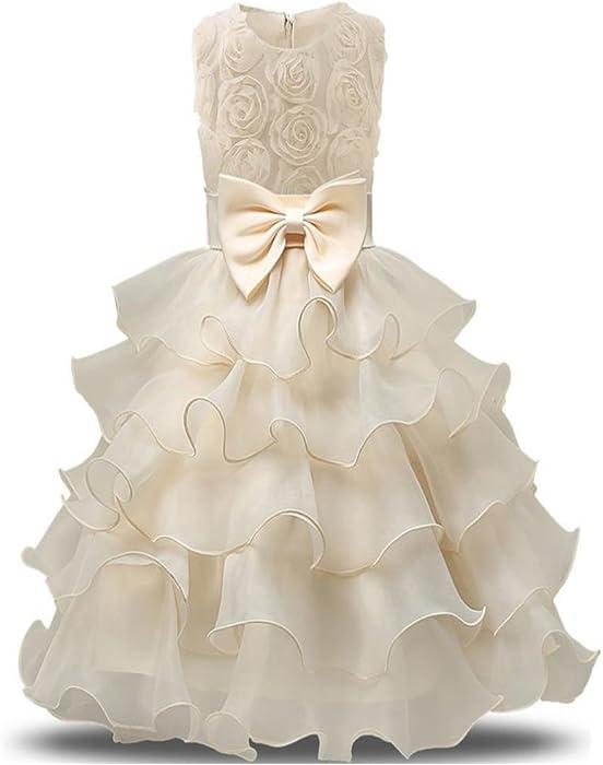 Amazon.com: Princess Lilac Long Girls Pageant Dresses Kids Prom ...