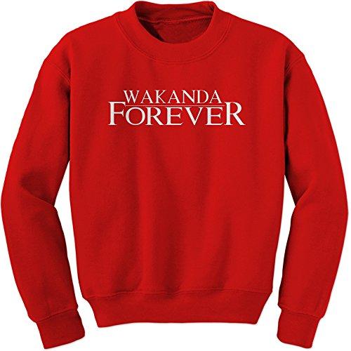 Expression Tees Wakanda Forever Crewneck Sweatshirt for cheap