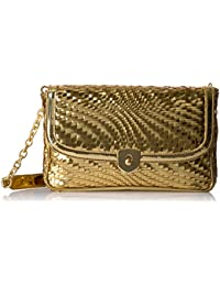 Genevieve Clutch Gold