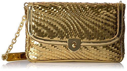 Cole Haan Genevieve Clutch Gold by Cole Haan