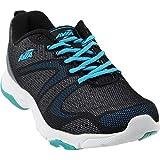 Avia Women's avi-Celeste Cross-Trainer Shoe, Black/White/Detox Blue, 6 M US Review