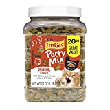 Purina Friskies Made in USA Facilities Cat Treats, Party Mix Original Crunch - 20 oz. Canister Larger Image