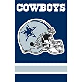 Party Animal Dallas Cowboys NFL Applique Banner Flag (44x28'')'' PAR-AFDA